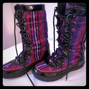 Coach Winter Boots. Size 5